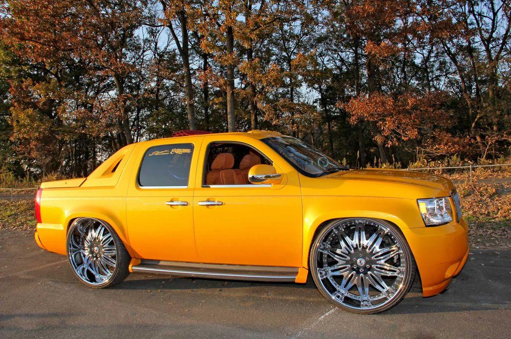 2007 CHEVROLET AVALANCHE custom suv truck tuning hot rods rod gangsta lowrider wallpaper