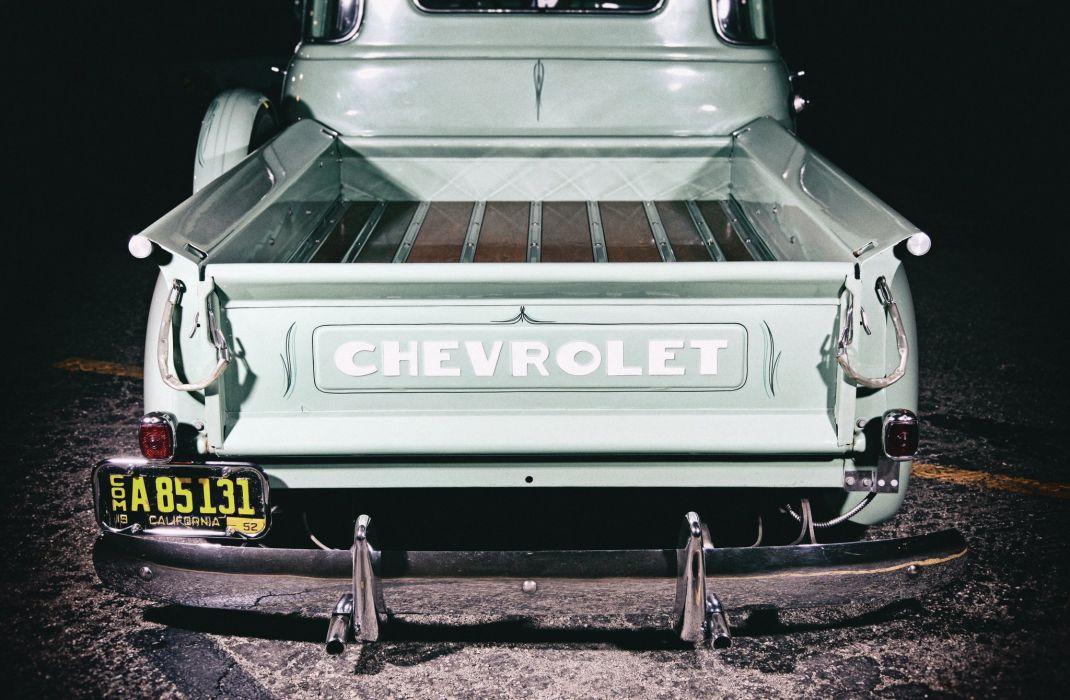 1952 CHEVROLET 3100 custom pickup tuning hot rods rod gangsta lowrider truck wallpaper
