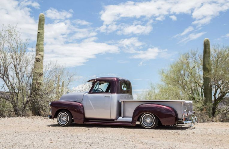 1952 CHEVROLET 3100 custom pickup tuning hot rods rod gangsta lowrider truck wallpaper