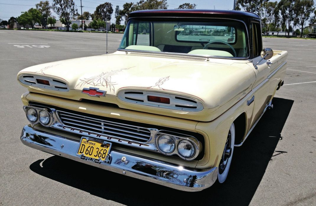 chevy truck custom paint with 1960 Chevrolet Apache Custom Pickup Tuning Hot Rods Rod Gangsta Lowrider Truck on 1938 CHEVROLET CUSTOM PICKUP 177226 additionally 380483868498376967 additionally Finished photo gallery in addition 1959 Ford F100 Custom Cab Big Back Window likewise 2 Ton Pickup.