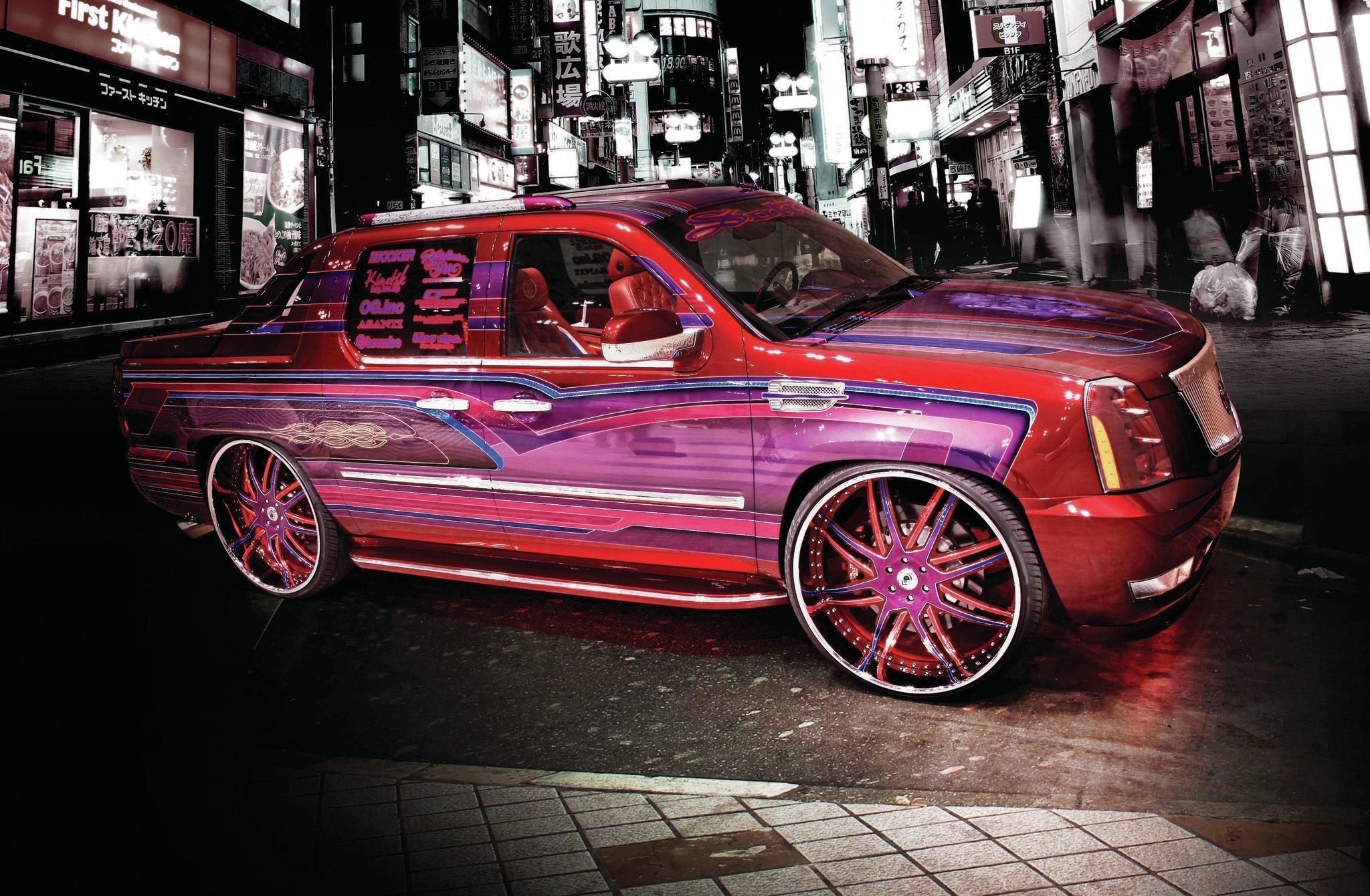 Cadillac Escalade Ext 2017 >> 2008 CADILLAC ESCALADE EXT custom suv truck tuning hot rods rod gangsta lowrider wallpaper ...