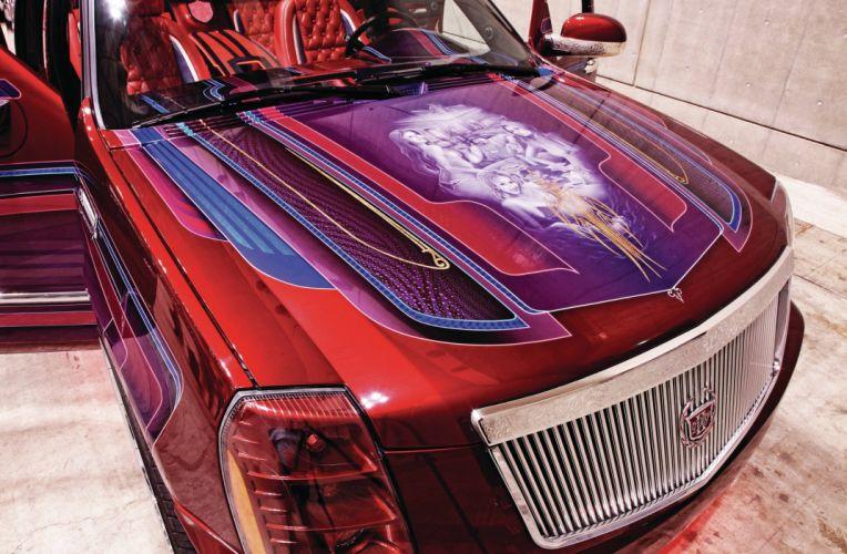 2008 CADILLAC ESCALADE EXT custom suv truck tuning hot rods rod gangsta lowrider wallpaper