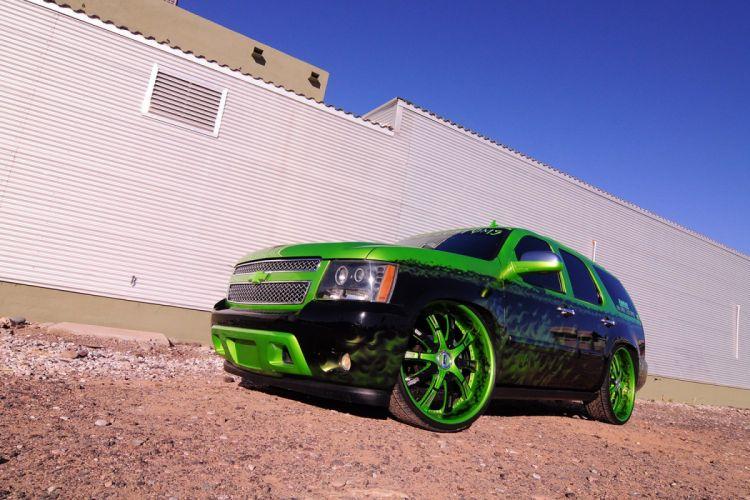 2007 CHEVROLET TAHOE custom suv truck tuning hot rods rod gangsta lowrider wallpaper