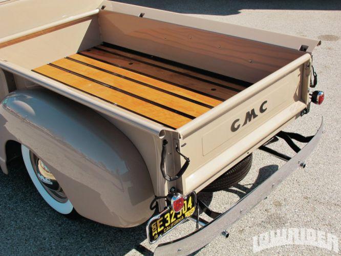 1952 GMC custom pickup tuning hot rods rod gangsta lowrider truck wallpaper