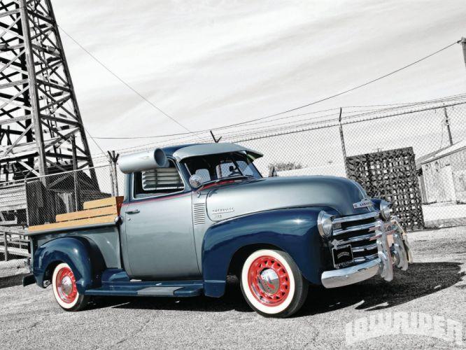 1949 CHEVY 3100 custom pickup tuning hot rods rod gangsta lowrider truck wallpaper