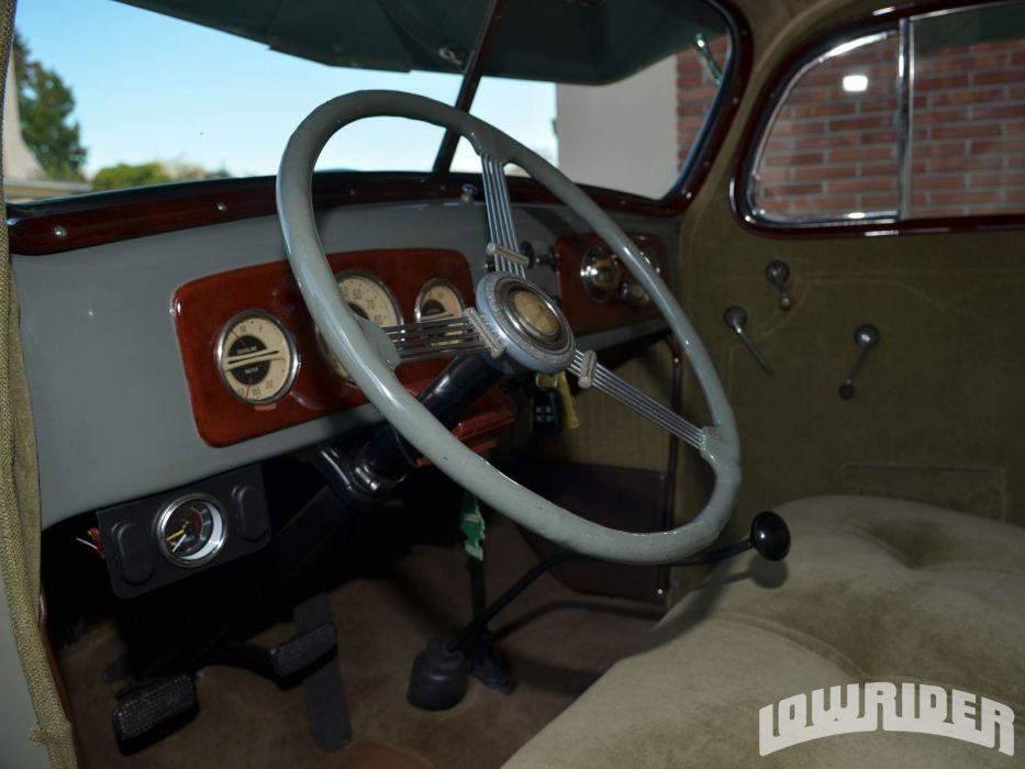 1936 CHEVROLET MASTER DELUXE SPORT SEDAN lowrider custom tuning wallpaper