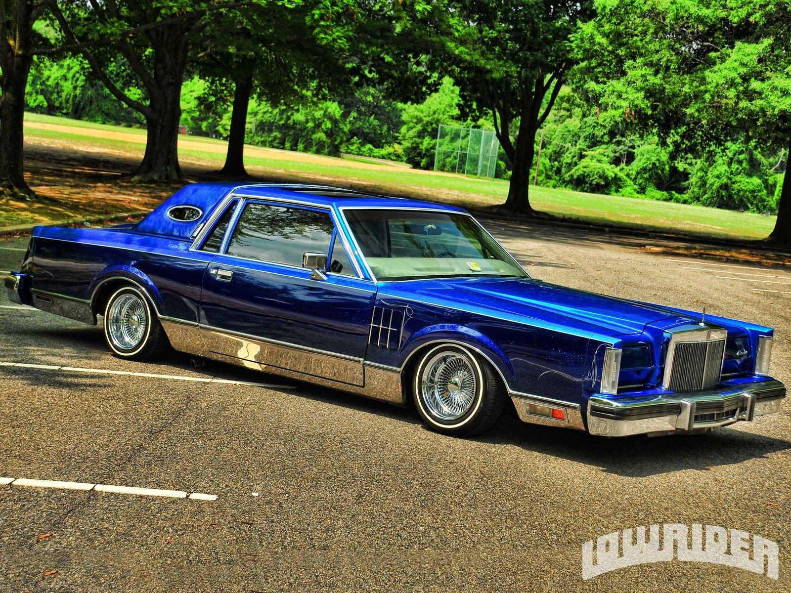 1981 Lincoln Mark Vis Lowrider Custom Tuning Hot Rod Rods