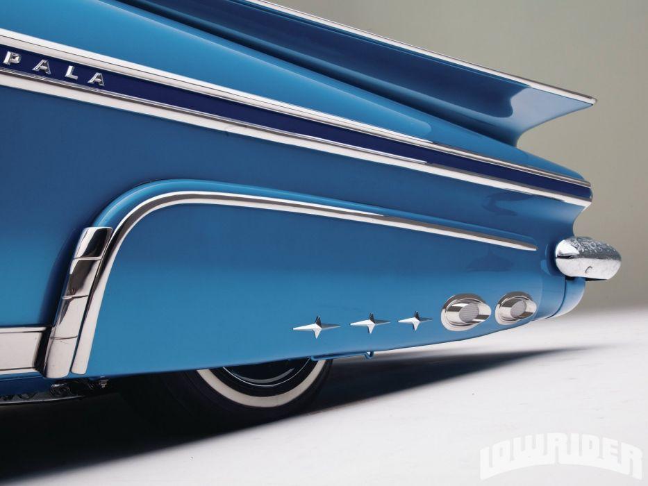 1959 CHEVROLET IMPALA CONVERTIBLE lowrider custom tuning hot rod rods wallpaper