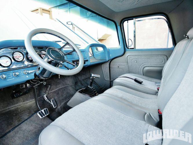 1963 CHEVROLET TRUCK lowrider custom tuning hot rod rods pickup wallpaper