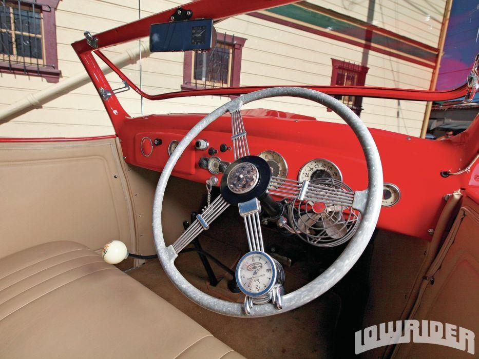 1936 CHEVROLET SPORT ROADSTER lowrider custom tuning hot rod rods wallpaper