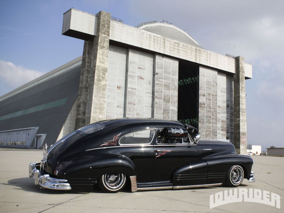 1947 PONTIAC TORPEDO lowrider custom tuning hot rod rods wallpaper