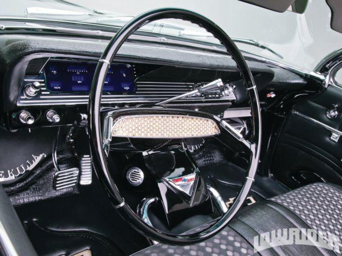1961 CHEVROLET IMPALA CONVERTIBLE lowrider custom tuning hot rod rods wallpaper