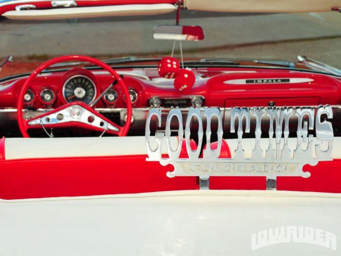 CHEVROLET IMPALA CONVERTIBLE lowrider custom tuning hot rod rods wallpaper