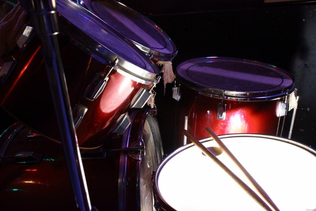DRUMS music percussion drum set kit wallpaper