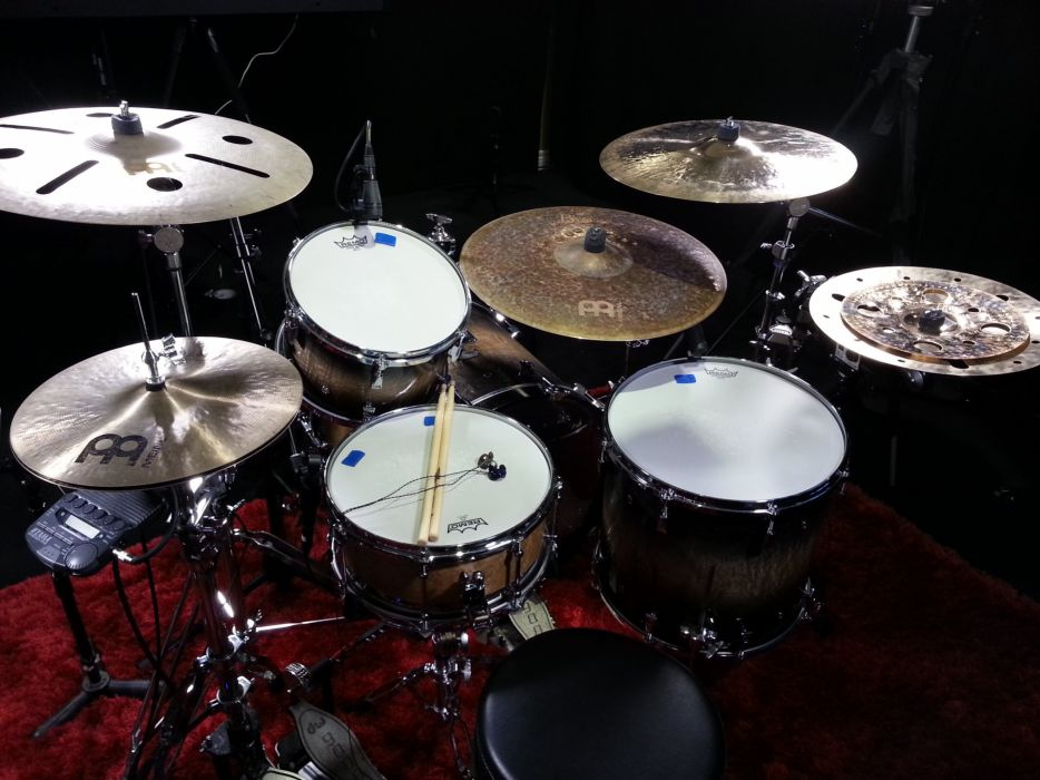 Drums Wallpapers: DRUMS Music Percussion Drum Set Kit Wallpaper