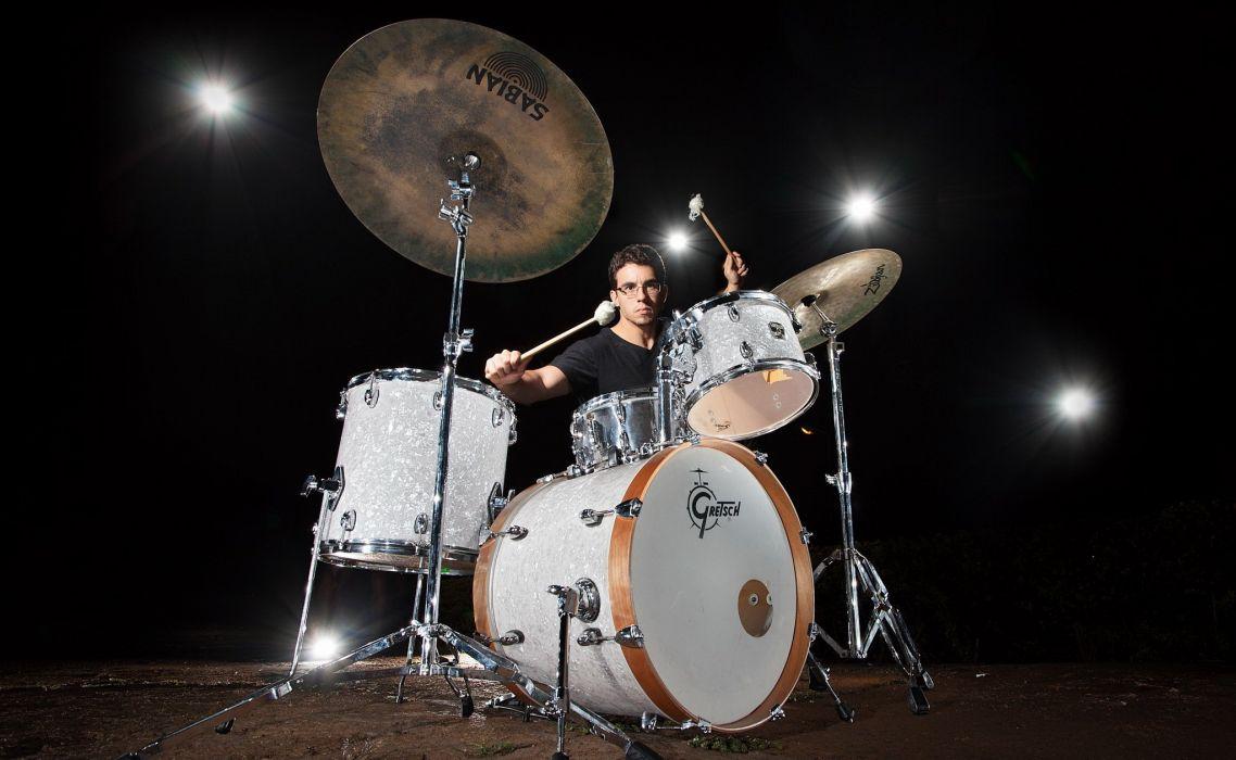 Drums Music Percussion Drum Set Kit Wallpaper 2047x1259 976095