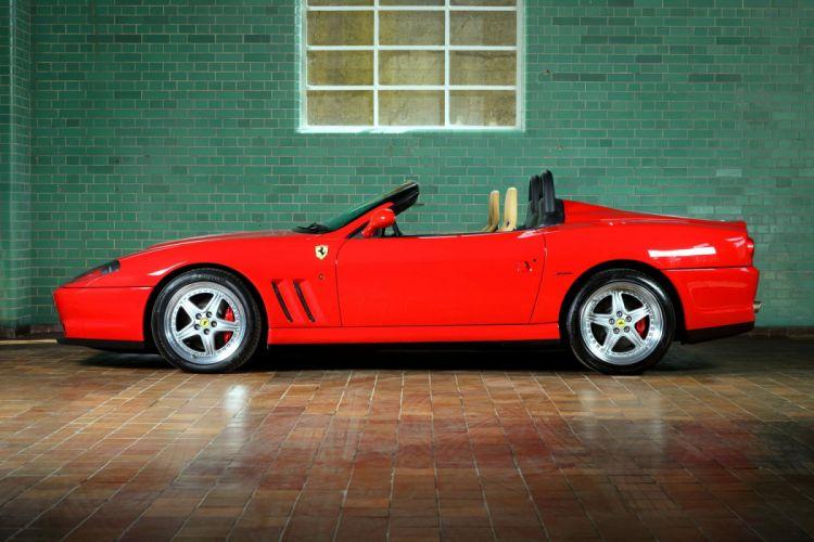 Ferrari 550 Barchetta Pininfarina UK-spec 2000 cars wallpaper