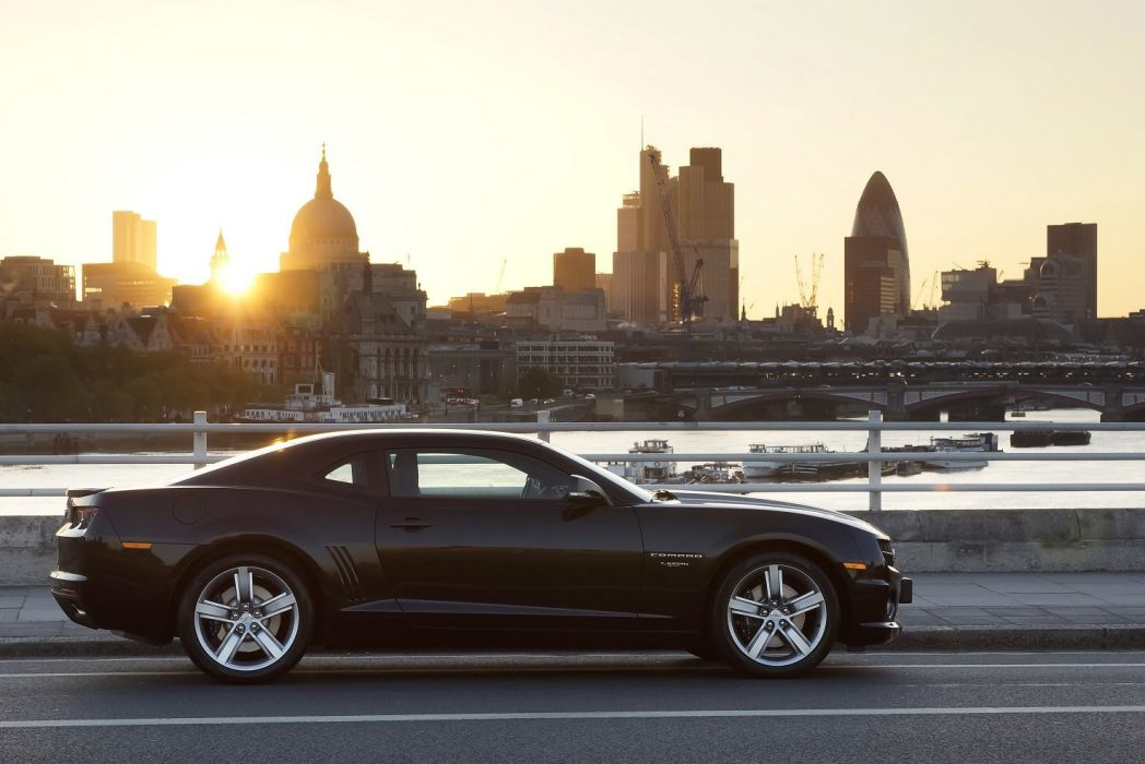 Chevrolet Camaro RS 45th Anniversary EU-spec cars black 2012 wallpaper
