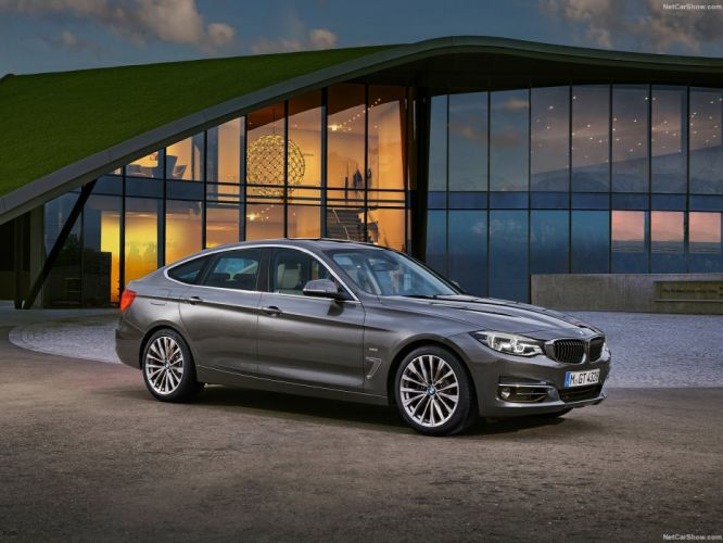 BMW 3-Series Gran Turismo cars 2016 wallpaper