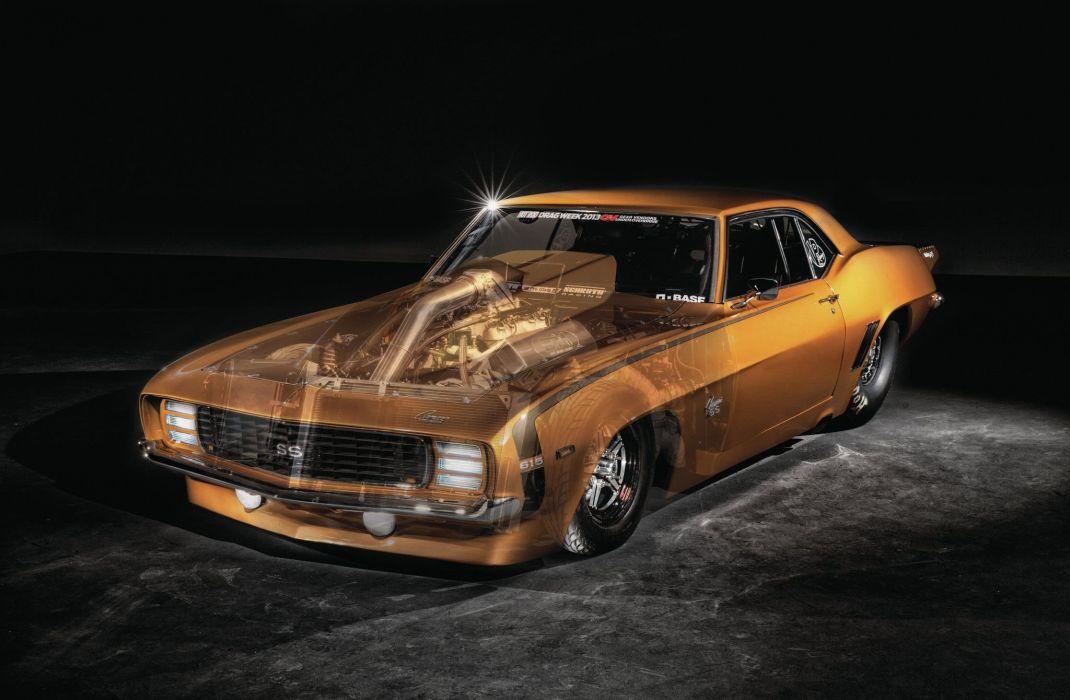 1969 Chevrolet Camaro cars drag wallpaper