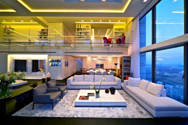 INTERIOR DESIGN room furniture architecture house condo apartment wallpaper