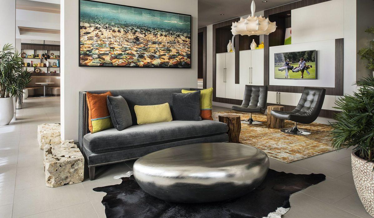 INTERIOR DESIGN room furniture architecture house condo apartment wallpaper