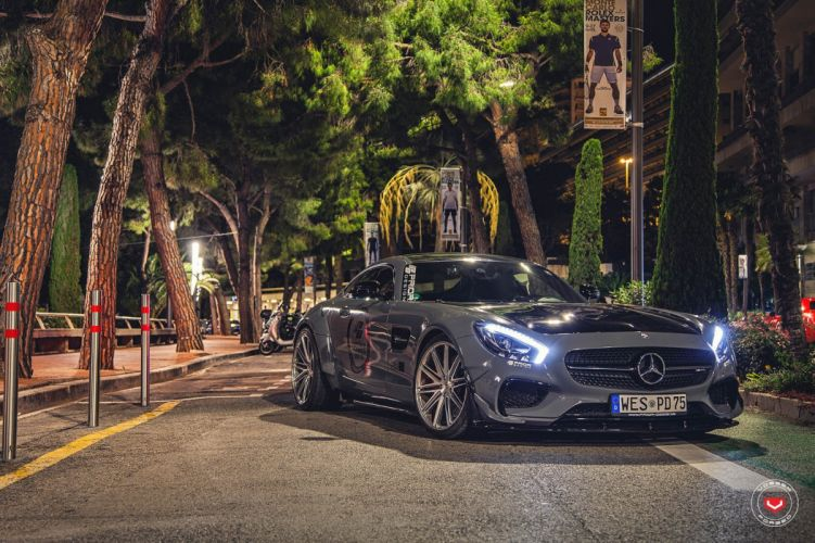 Mercedes AMG GTS Vossen wheels cars monaco prior wallpaper