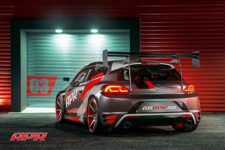 Volkswagen Scirocco Vossen wheels cars wallpaper