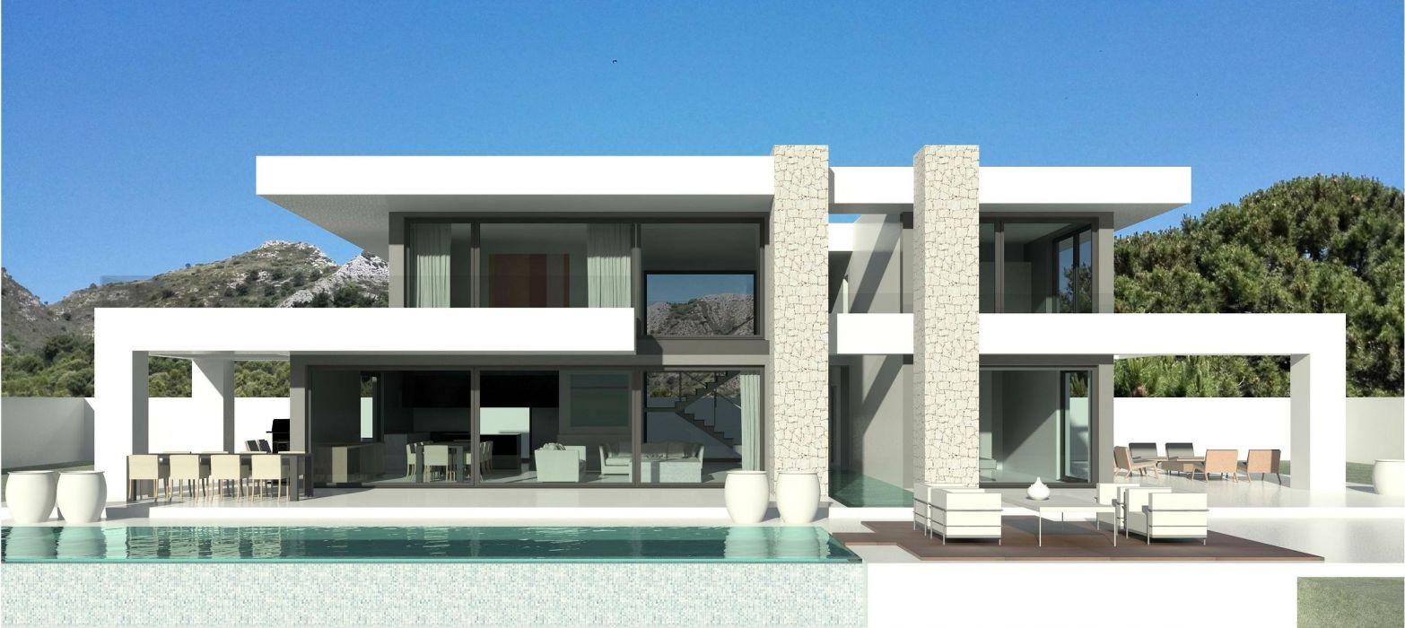 MANSION house architecture luxury building design wallpaper