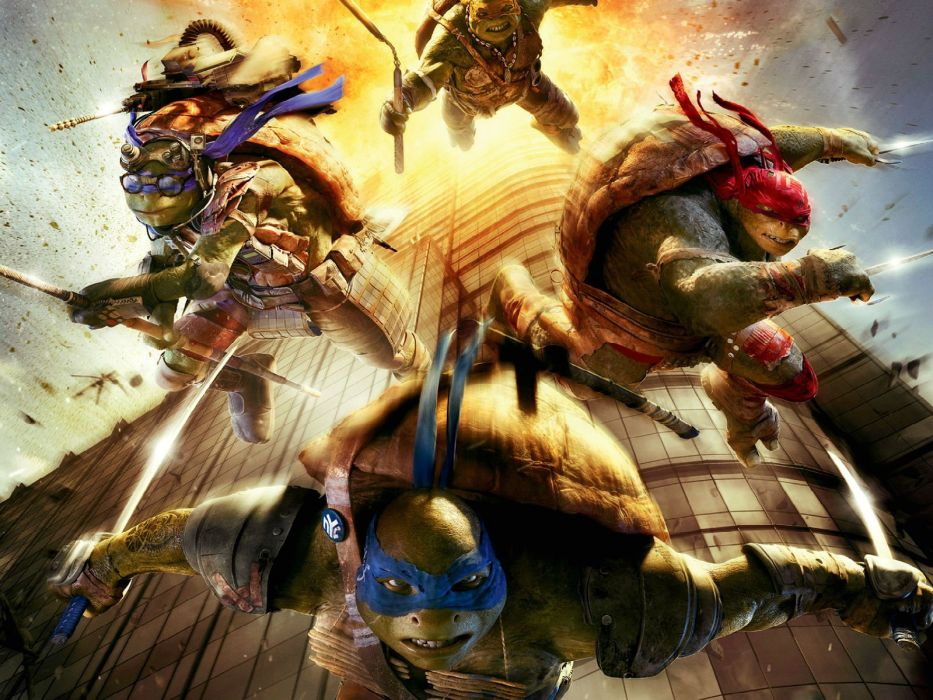 TEENAGE MUTANT NINJA TURTLES fantasy sci-fi adventure warrior animation action fighting tmnt wallpaper