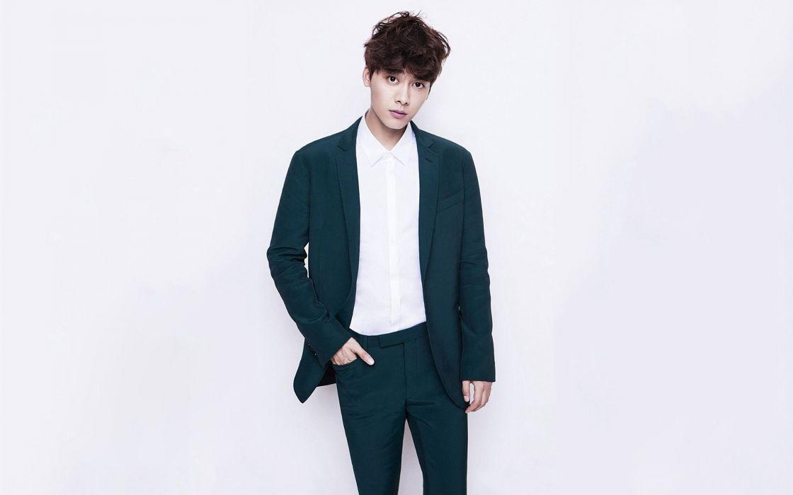 hombre modelo asiatico traje wallpaper