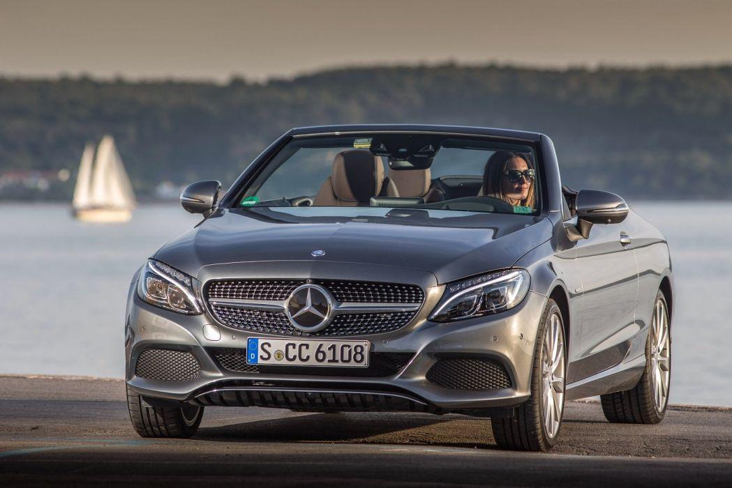 Mercedes C-class Edition 1 Cabriolet (A205) cars 2016 wallpaper