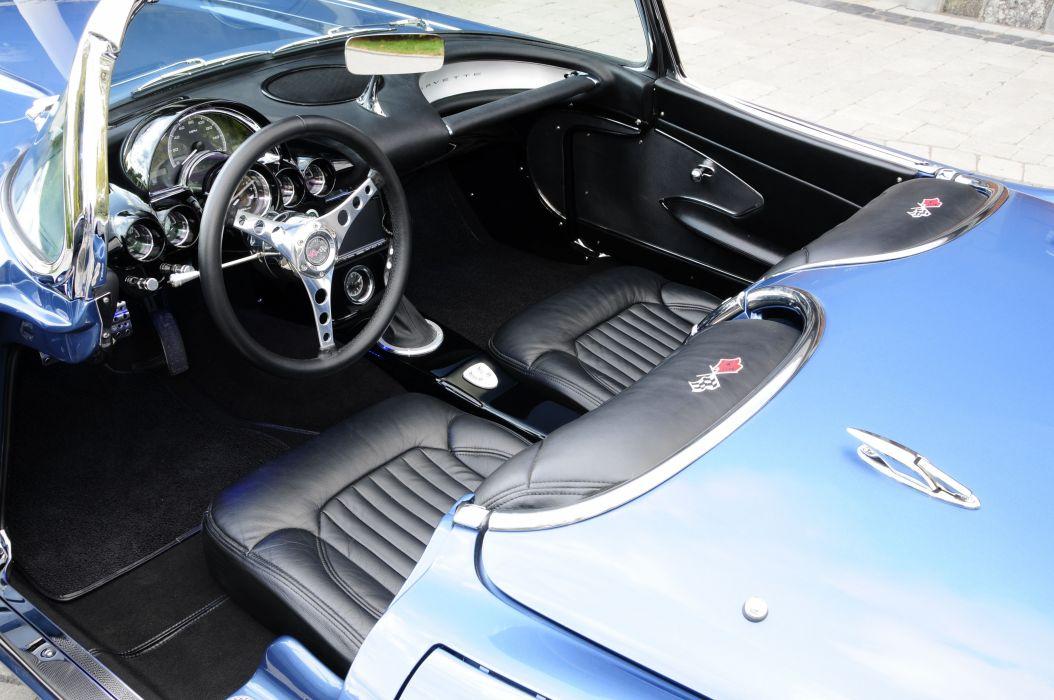1959 chevrolet Corvette LS3 convertible (c1) cars classic modified wallpaper