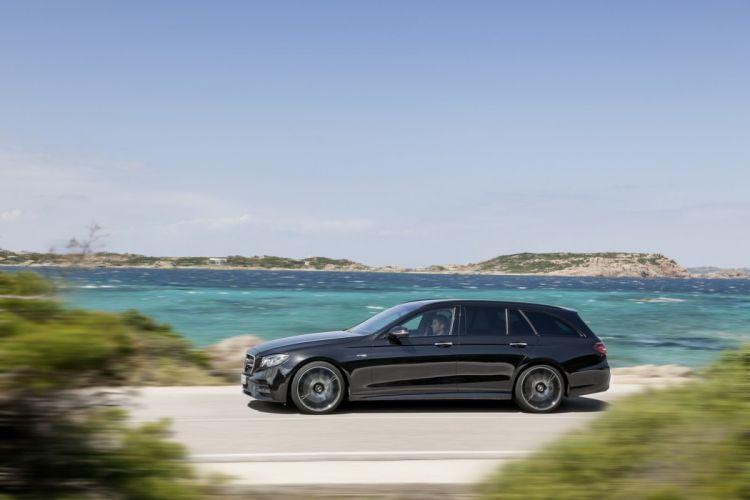2016 Mercedes Benz E43 Estate cars wagon AMG wallpaper