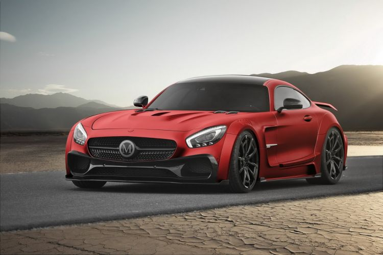 Mansory Mercedes AMG GTS cars bodykit modified wallpaper