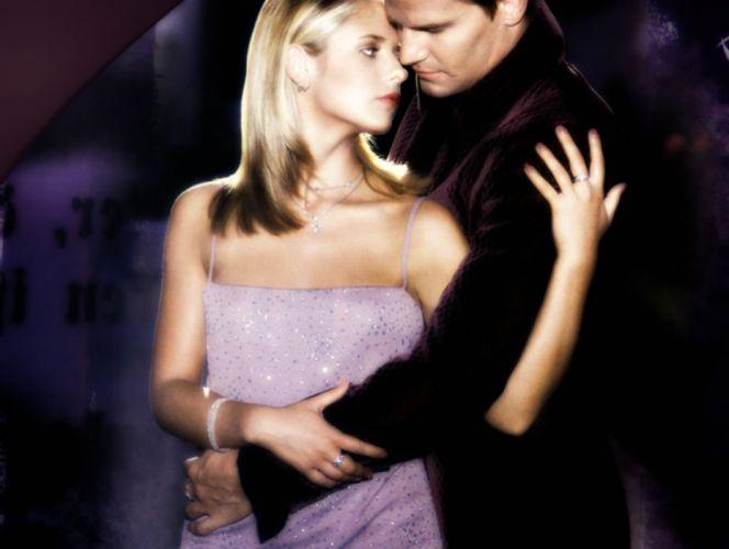 BUFFY VAMPIRE SLAYER supernatural dark horror thriller series action drama fantasy Sarah Michelle Gellar wallpaper