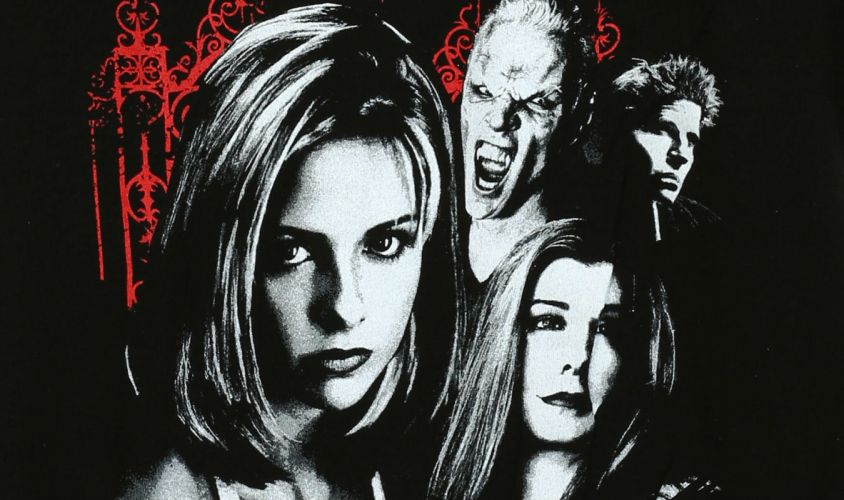 BUFFY VAMPIRE SLAYER supernatural dark horror thriller series action drama fantasy Sarah Michelle Gellar poster wallpaper