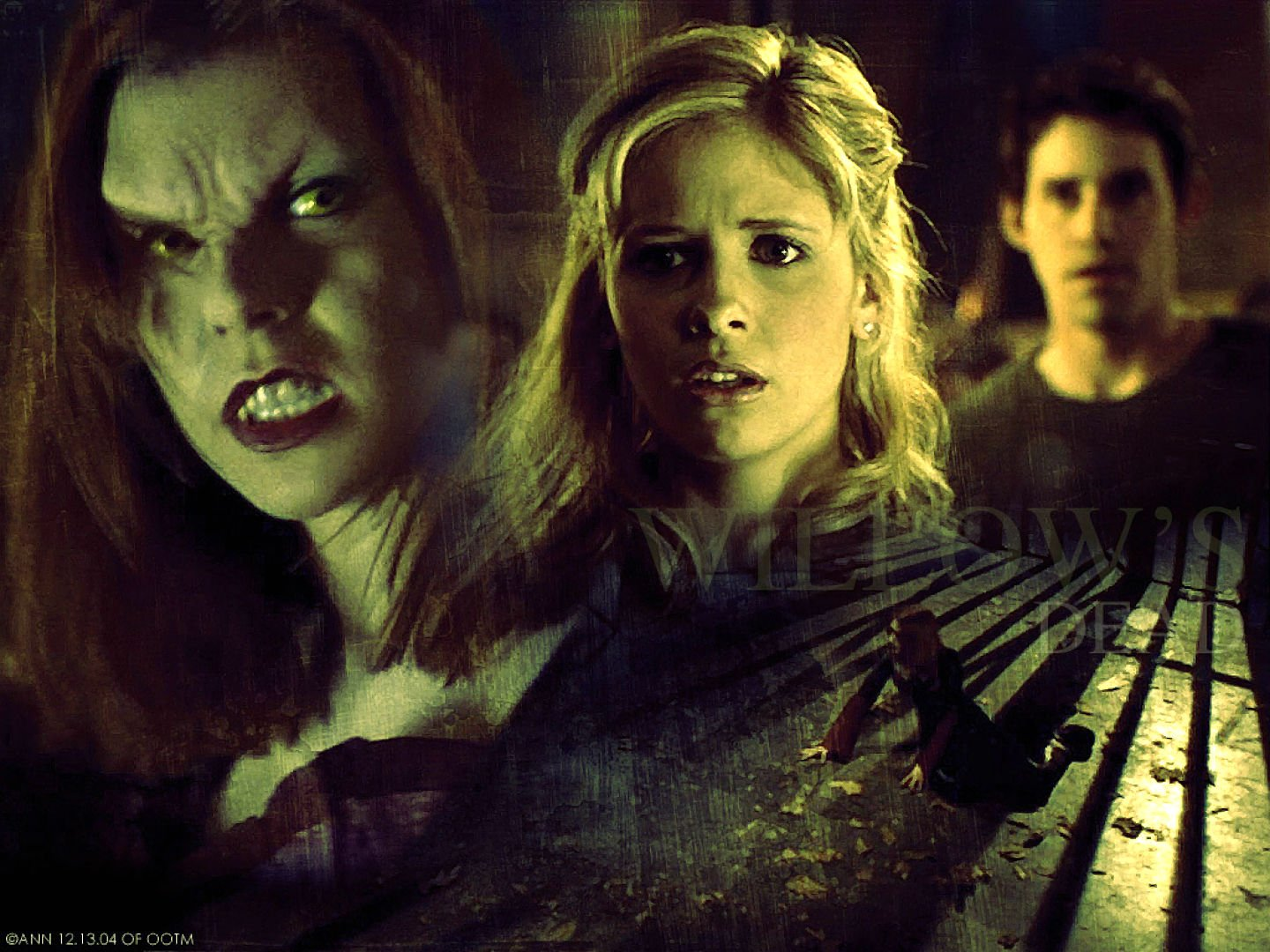 buffy the vampire slayer and the horror Sarah michelle gellar buffy the vampire slayer turns 20 today, which is hard for me to believe mostly because i can't remember a world or language without it — without big bads, bitca, spuffy, kitten poker, and giles's grouchy muttering (pillock.