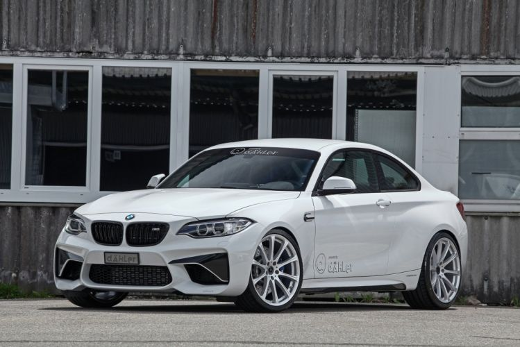 daHLer BMW M2 (F87) cars coupe white modified 2016 wallpaper