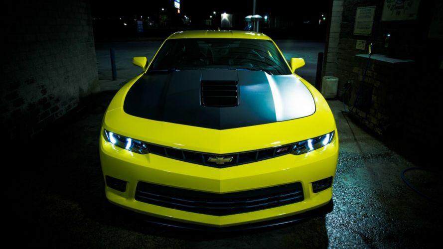 coche chevrolet amarillo americano wallpaper