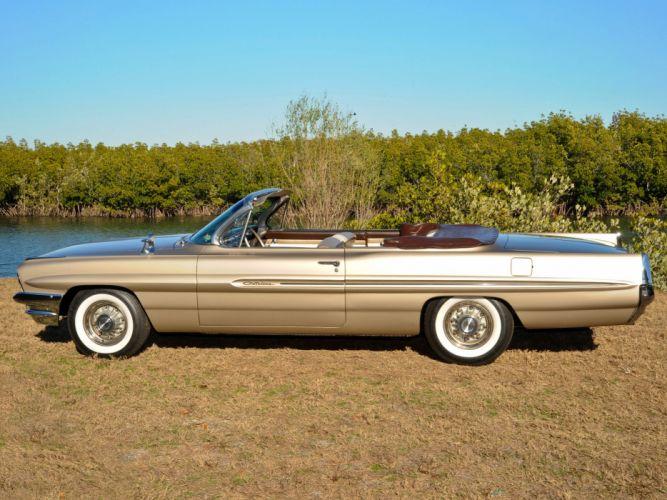 1961 Pontiac Catalina Convertible cars classic wallpaper