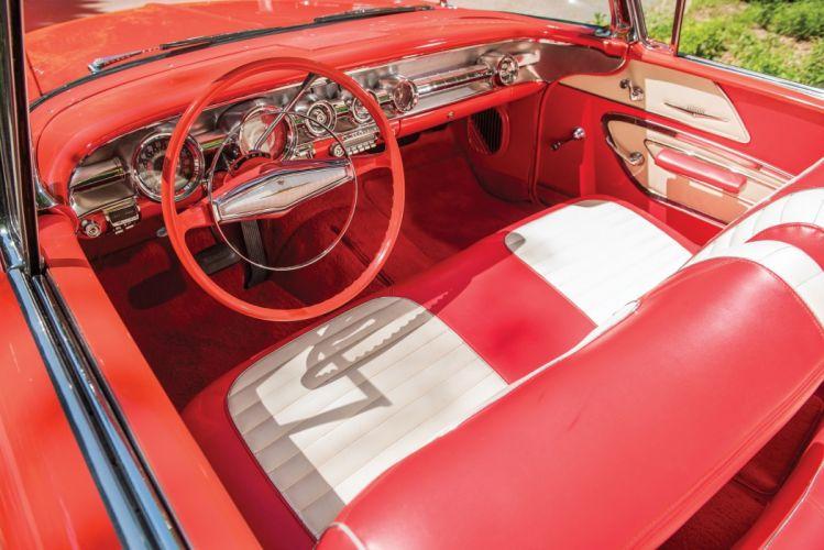 1958 Pontiac Parisienne Convertible cars classic wallpaper