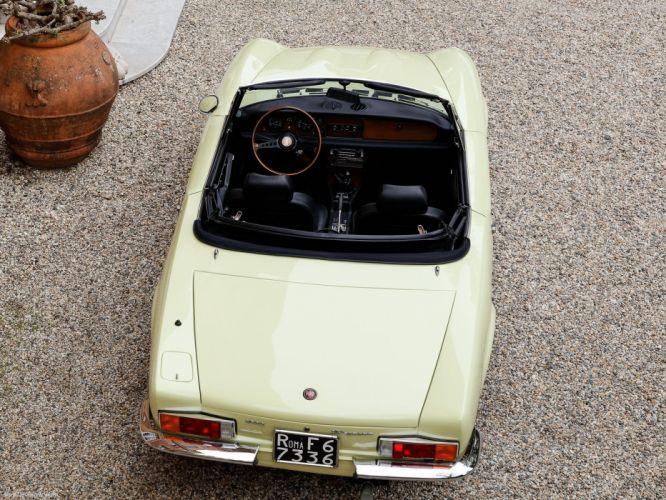 Fiat 124 Sport Spider cars classic wallpaper