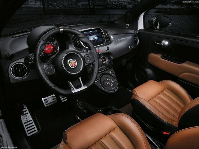 Fiat 595 Abarth cars 2016 wallpaper
