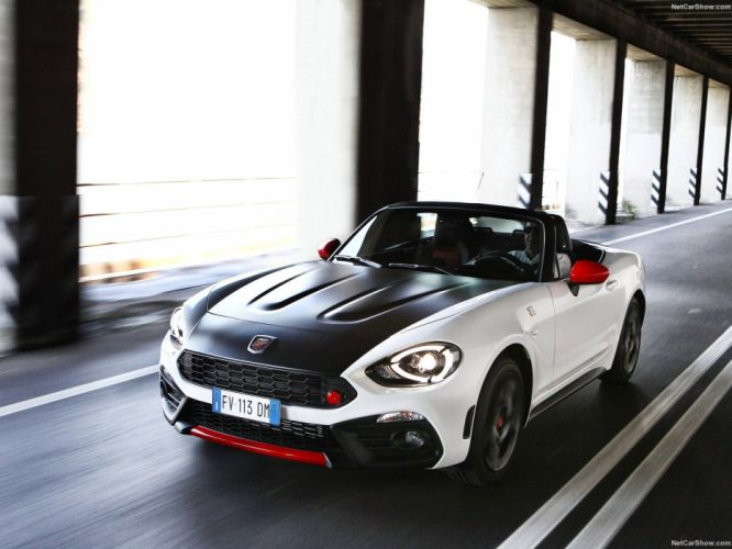 Fiat 124 Spider Abarth cars 2016 wallpaper