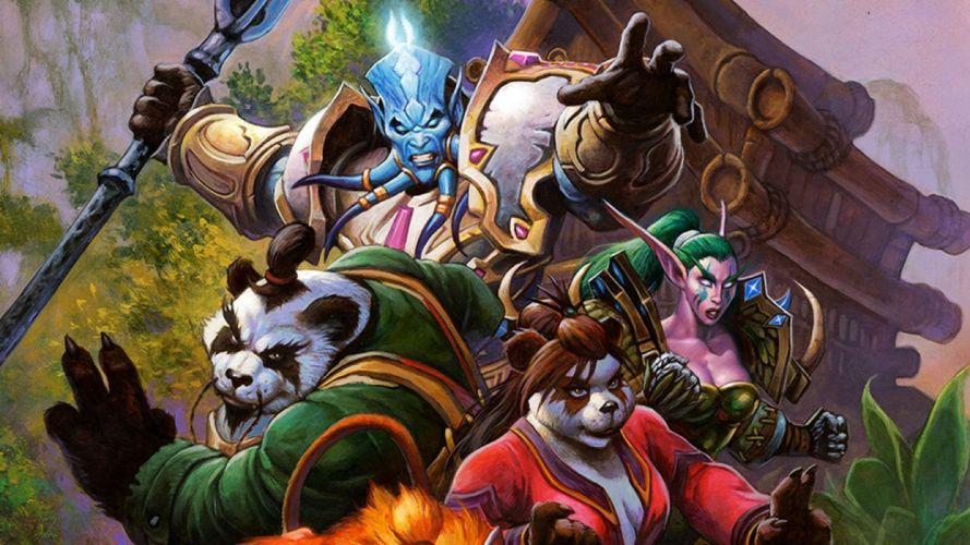 WARCRAFT Beginning fantasy action fighting warrior adventure world 1wcraft wallpaper