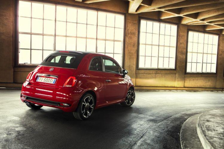 Fiat 500S Cabrio cars 2016 wallpaper