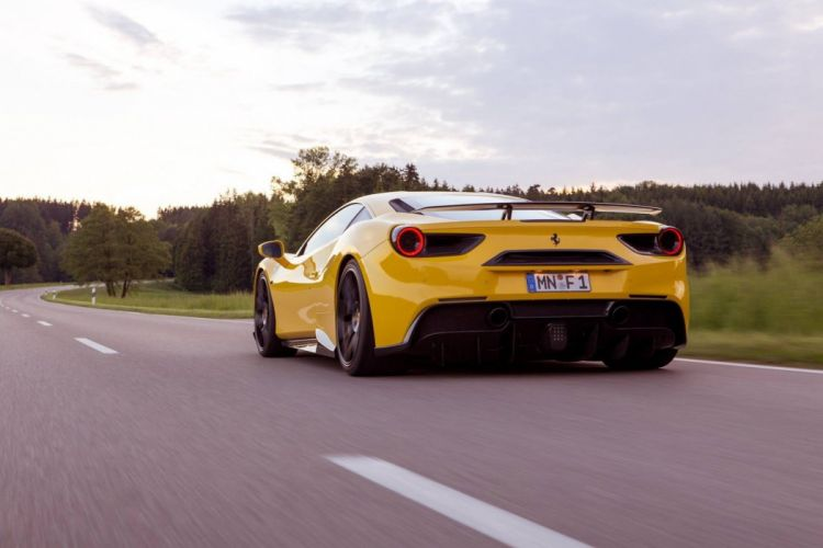 Novitec Rosso 2016 carbon body modified ferrari 488 GTB cars wallpaper
