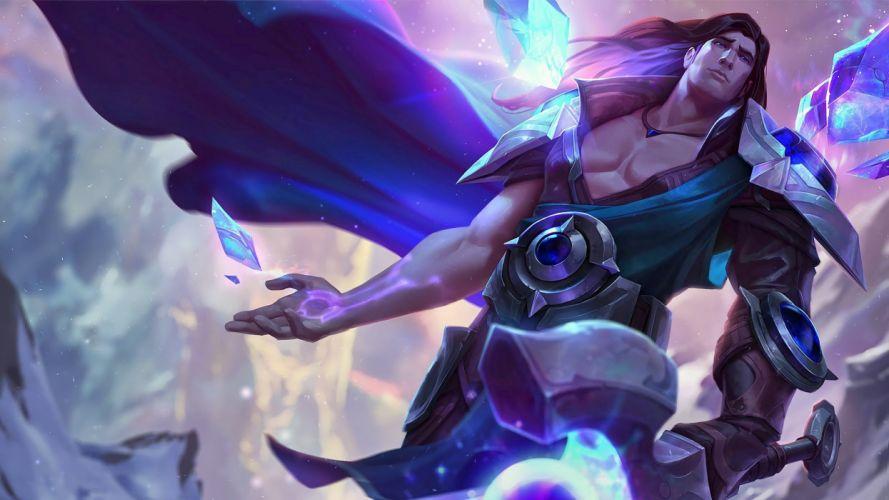 Taric Rework Splash Art - League of Legends wallpaper