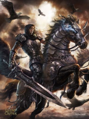 games fantasy characters male horse warrior legend of the cryptids wallpaper